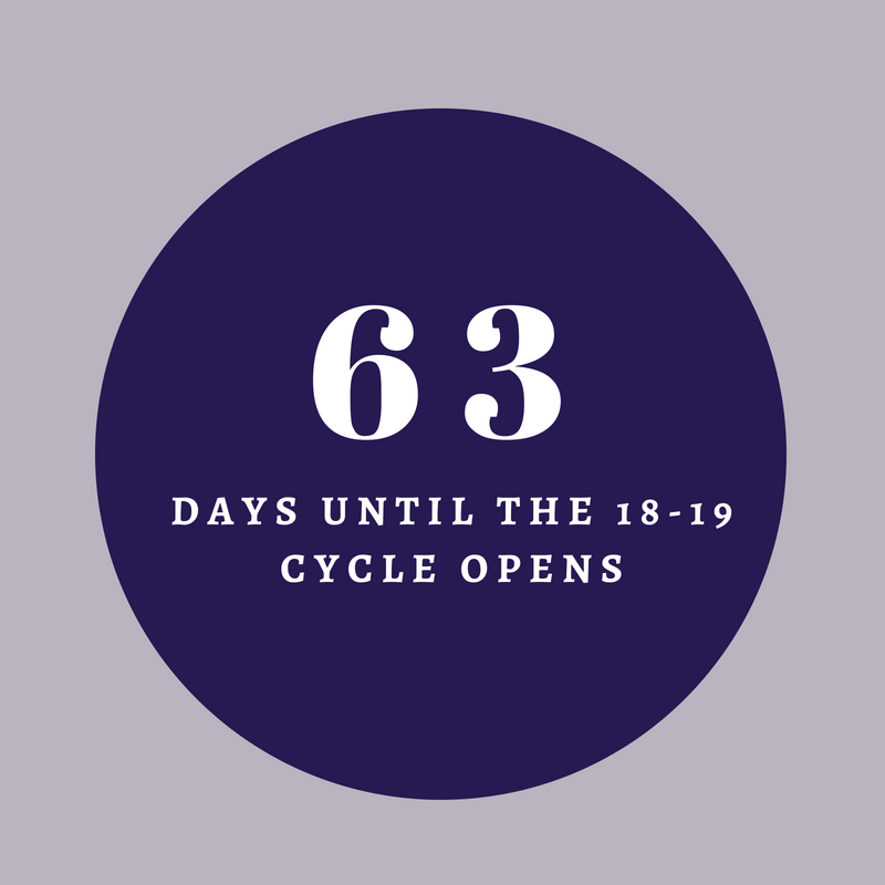 days until 18-19 cycle